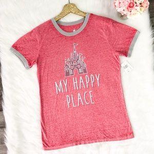 Disney Parks My Happy Place Castle Tee Shirt